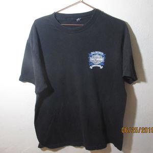 1998 Pacific Harley Davidson Hawaii Black Mens L